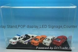figure acrylic display case,Diecast Car Display Case Stand 1/18 scale