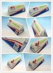 餐牌座(acrylic menu holder),压克力餐牌