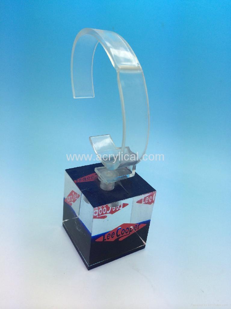 有机玻璃(亚克力)手表展示架/手表托架陈列架 10