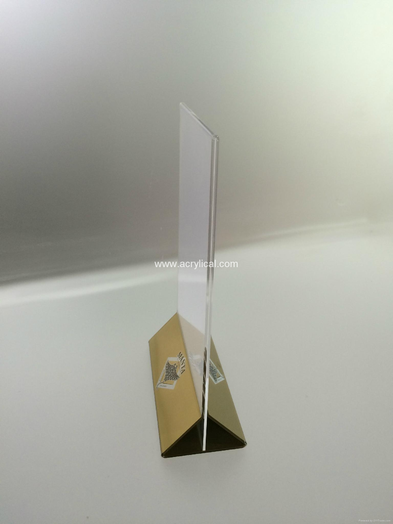 餐牌座(acrylic menu holder),壓克力餐牌