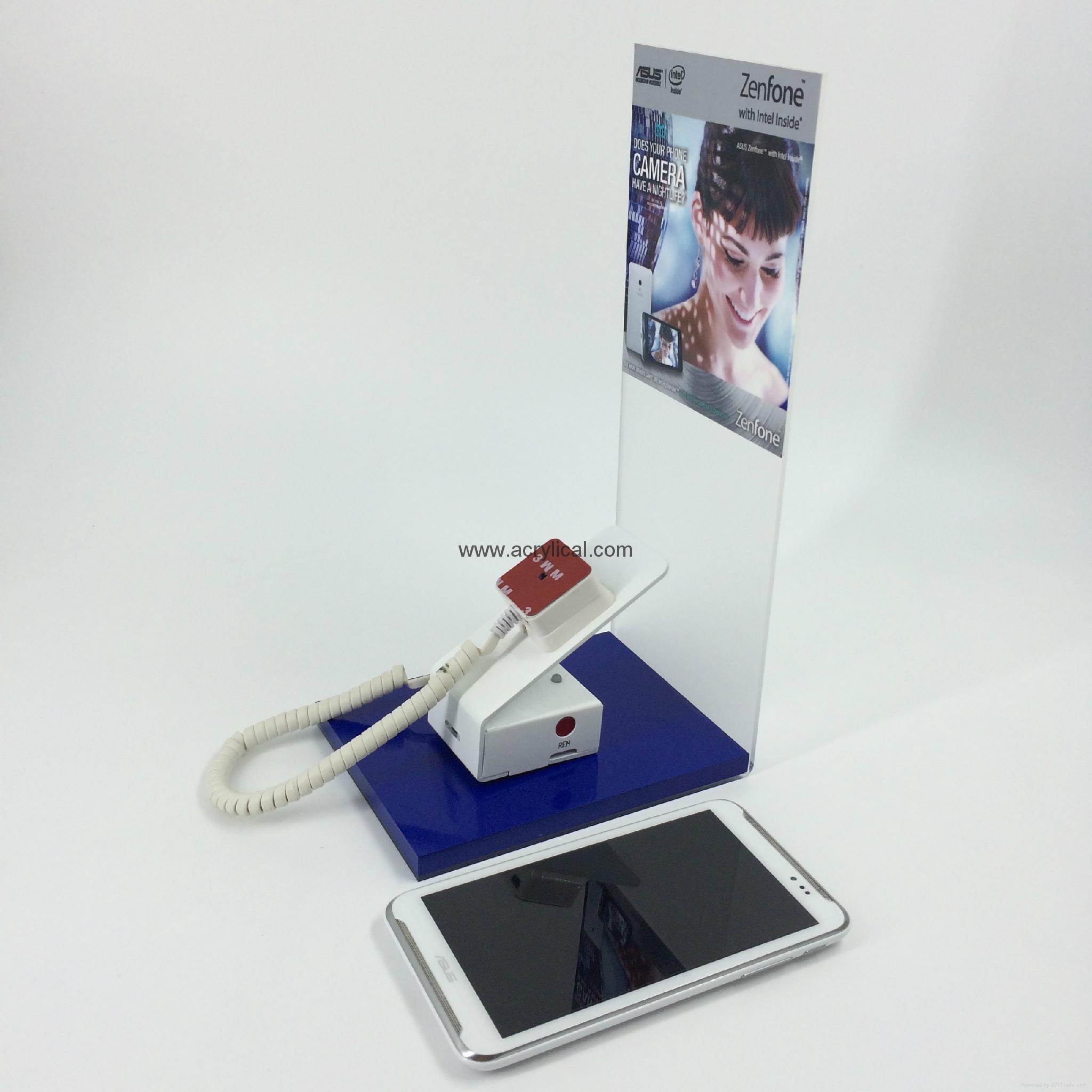 压克力手机展示架含防盗系统
