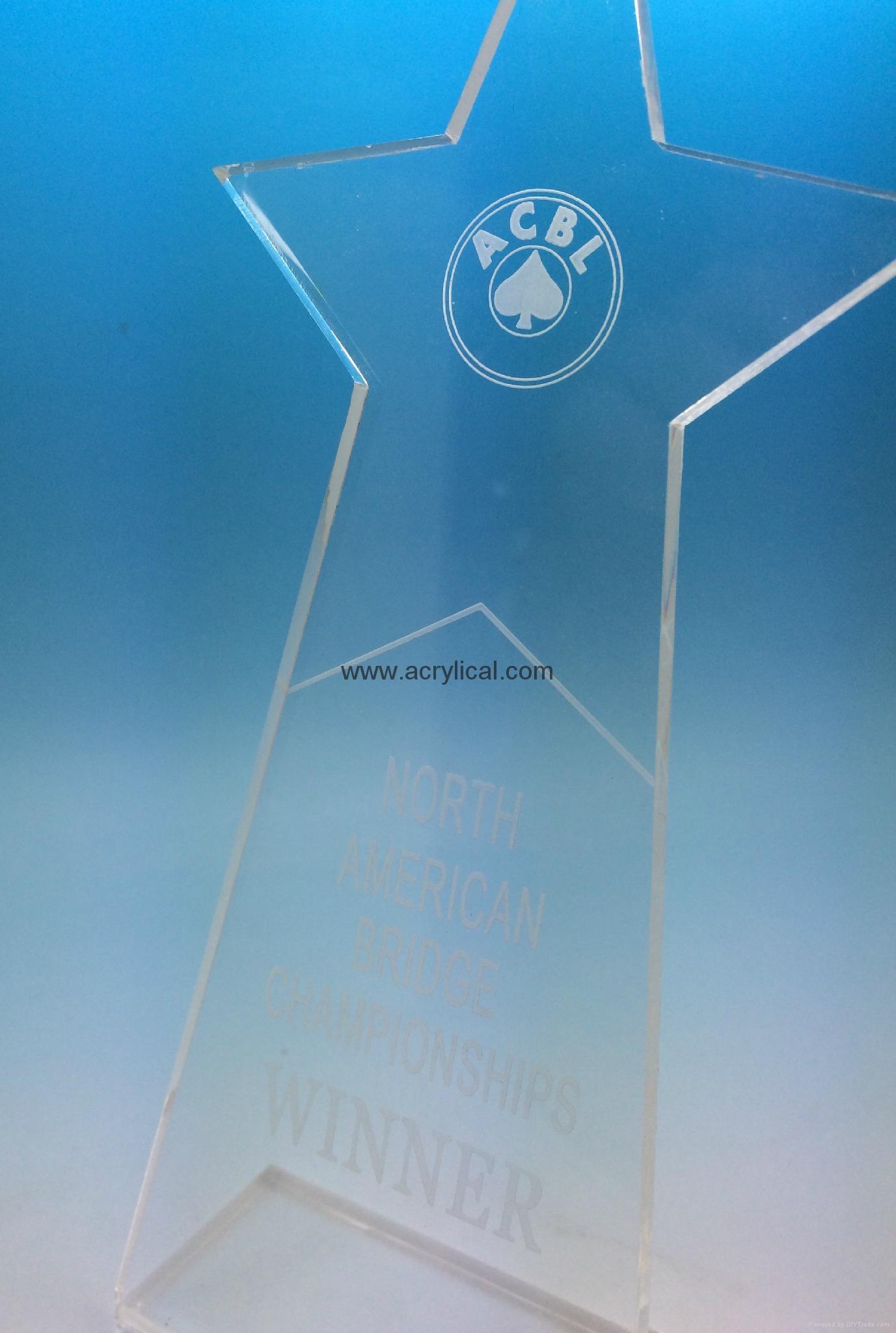有机玻璃-奖座,亚克力奖牌 2