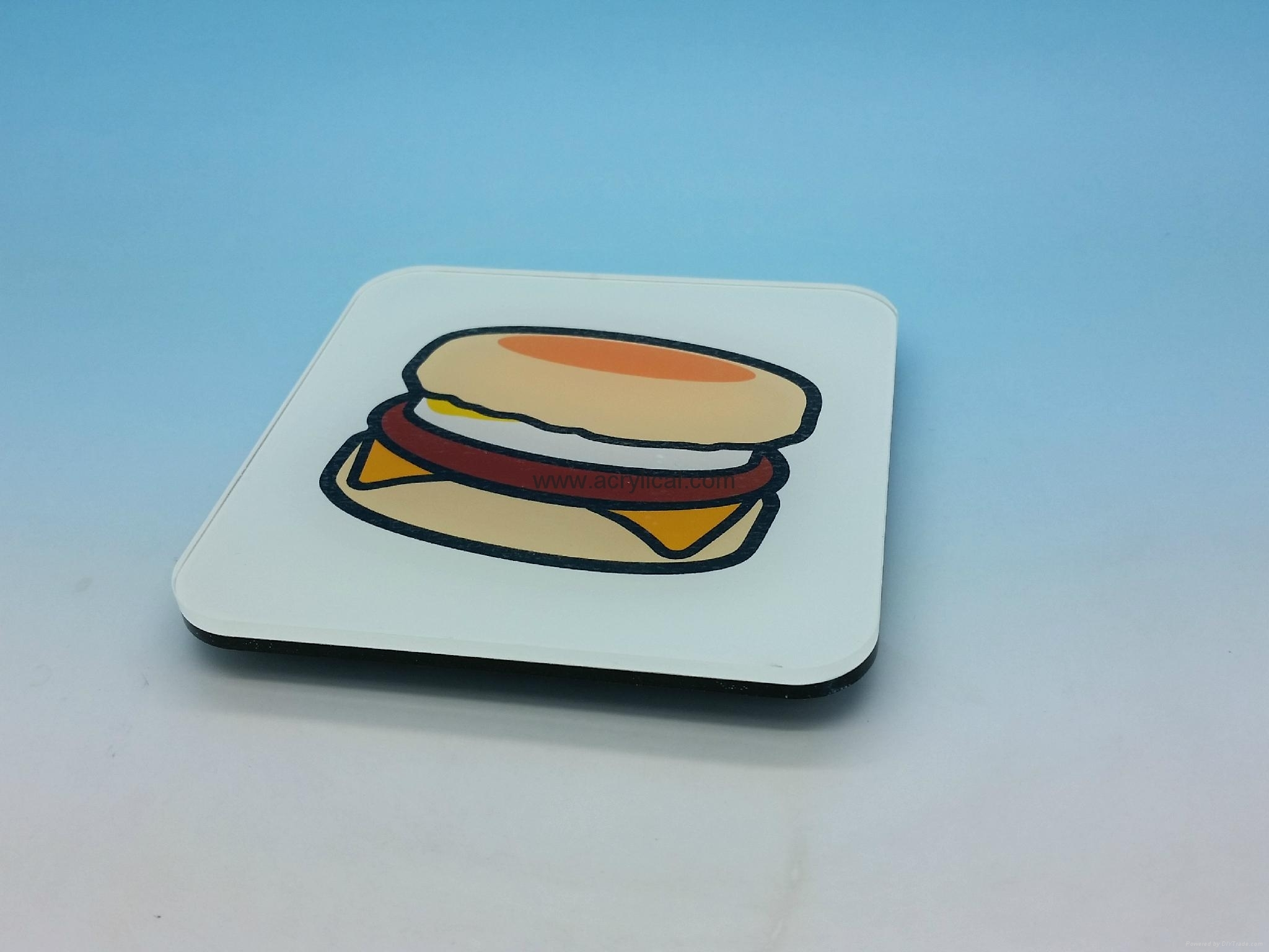 Promotion gifts-acrylic Coaster