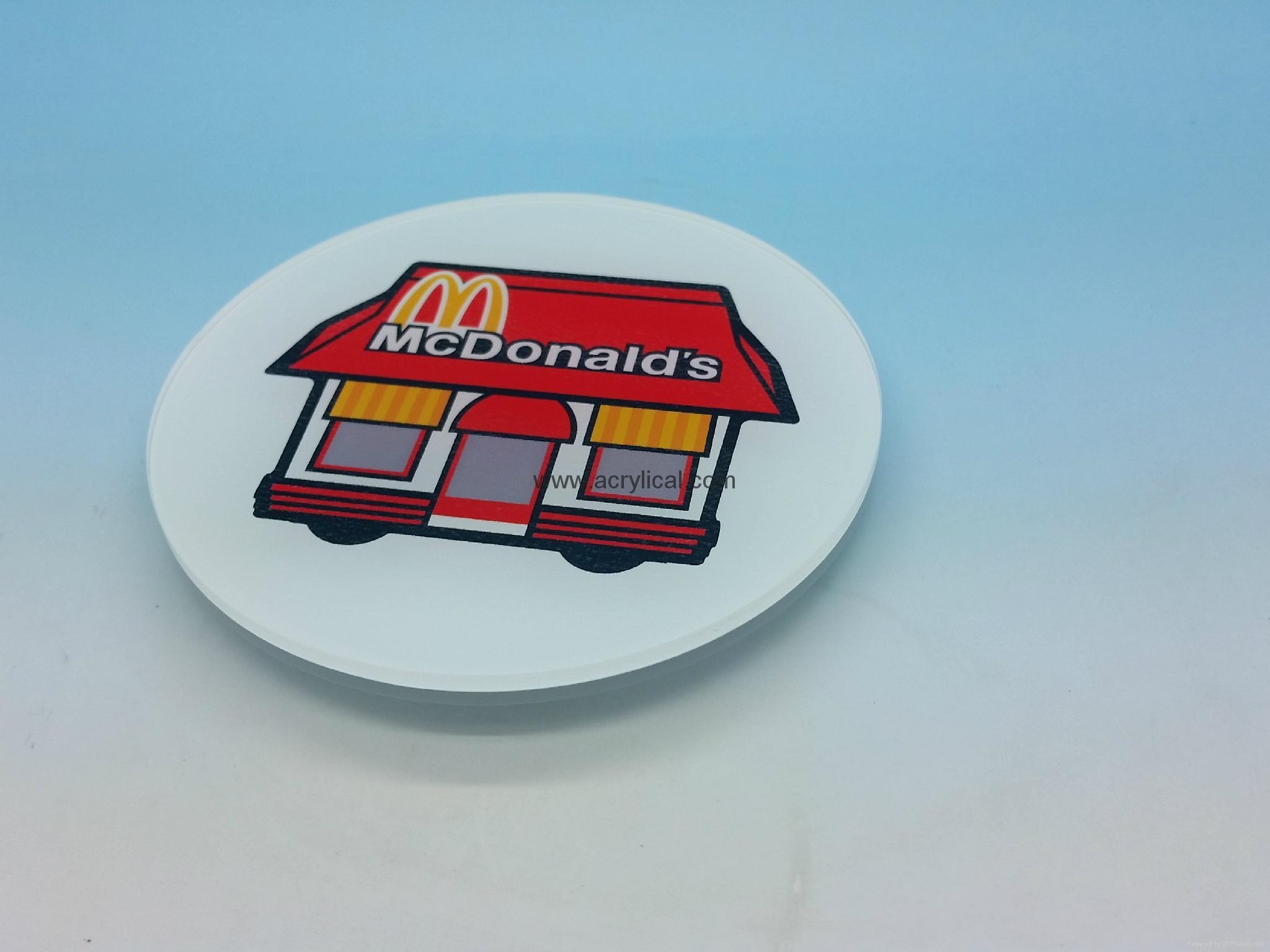 Promotion gifts-acrylic Coaster