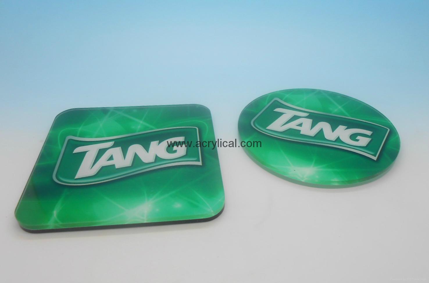 广告礼品-广告杯垫,广告促销礼品,公司广告赠品-压克力杯垫