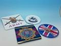 英國  杯墊-是英國  部隊現任的完美禮物。軍事杯墊,軍隊,退伍軍人禮物,公司廣告贈品-壓克力杯墊,廣告禮品,公司廣告贈品-廣告杯墊,杯墊廣告促銷禮品