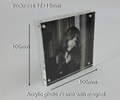 acrylic photo frame,acrylic block sign holder vertical/horizontal