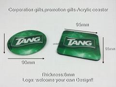 廣告禮品-廣告杯墊,廣告促銷禮品,公司廣告贈品-壓克力杯墊