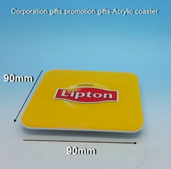 Corporation gifts-promotion gift -acrylic coaster (Hot Product - 1*)