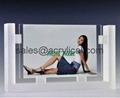 亚克力相框,壓克力相框, 透明水晶相架 ,證書框架 ,海报夹