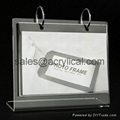 Acrylic photo frame,acrylic picture frame 12+12mm,The Heavy Magnetic Picture Frame preserves your photo between heavy sheets of clear acrylic that are held together by magnetic corners. Can be used vertically or horizontally and available in three sizes:2-1/2 X 3-1/2 X 3/4, 3 1/2  , 3 1/2   x 5  , 4   x 6  , 5   x 7  .