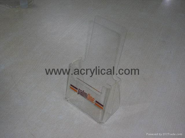 Clear Acrylic Brochure Holders 1/3 A4