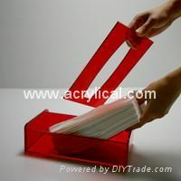 acrylic tissue box 243x128x68mm 5mm thickness ,Acrylic household products,Acrylic display stands, Acrylic sign letter ,Acrylic photo Frame,Literature displays, Brochure holders, Acrylic sign holder,Menu stand,Promotion gifts,Cell phone display stands, Acrylic Easel Book Holder Rack,Acrylic display case/Box ,Diecast car display case ,Trophies, Artistic ,POP display stands,Acrylic coaster,Jewelry display stand,dome display, eyewear display stands,LED lighting  Box,Poster display,LED display stands,Watch display stand,Counter top display stand,POP stand,POP display,Floor Standing Unit ,PETG,PVC,Vacuum forming,Window display stand,Acrylic Award,Cosmetic display,metal display rack, acrylic display rack.wooden display rack,retail shop display stand