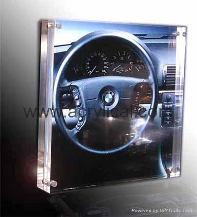 亞克力磁石相框,有機玻璃磁石相框