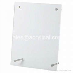 picture photo frame,acrylic block sign holder vertical/horizontal measures A4 (Hot Product - 1*)