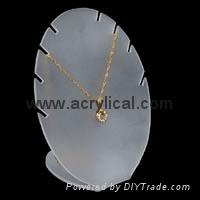 necklace display : 44(W)x34(D)x63(H)mm, 86W)x65(D)x117(H)mm,104(W)x78(D)x140mm
