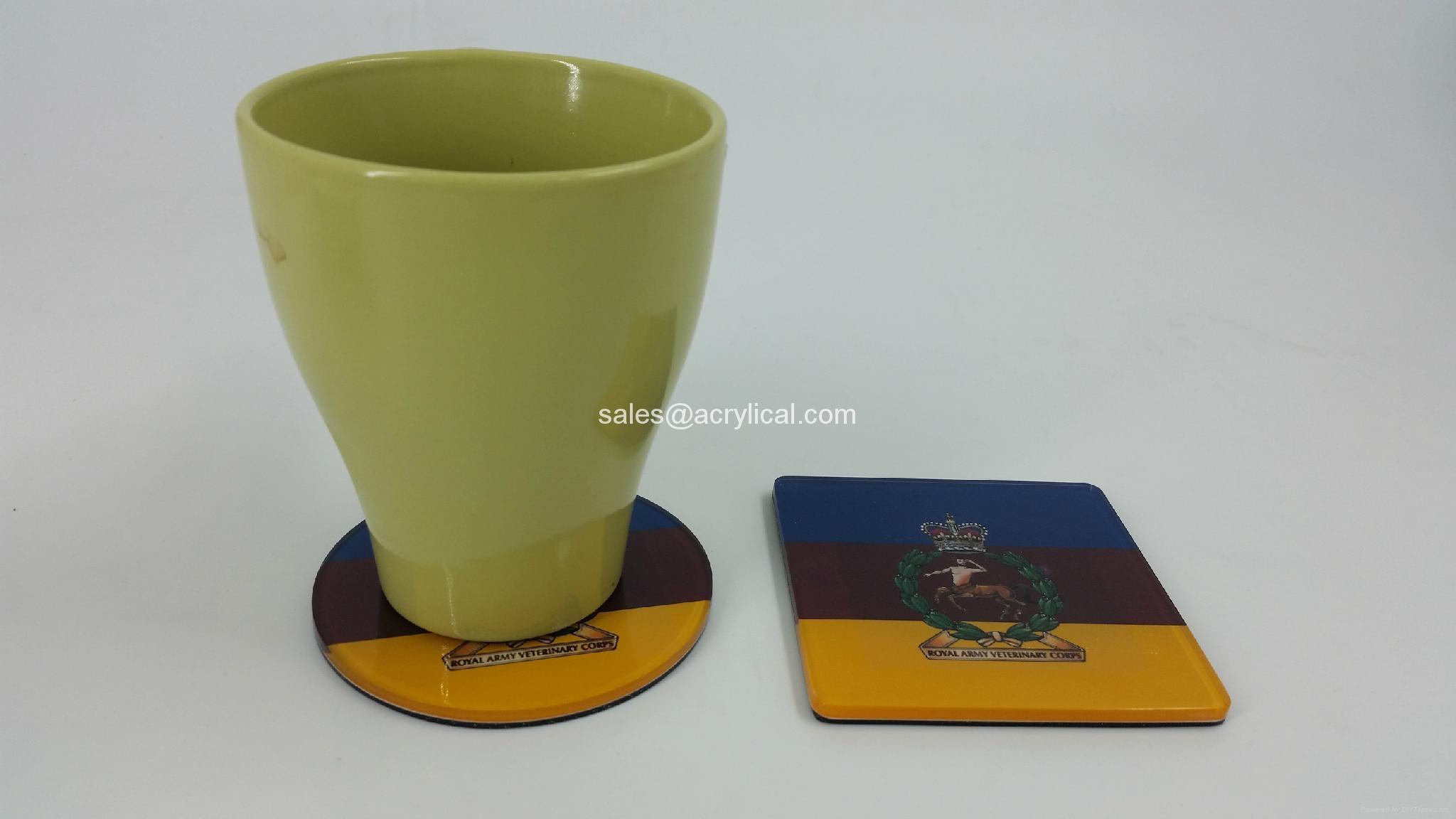英国  杯垫-是英国  部队现任的完美礼物。军事杯垫,军队,退伍军人礼物