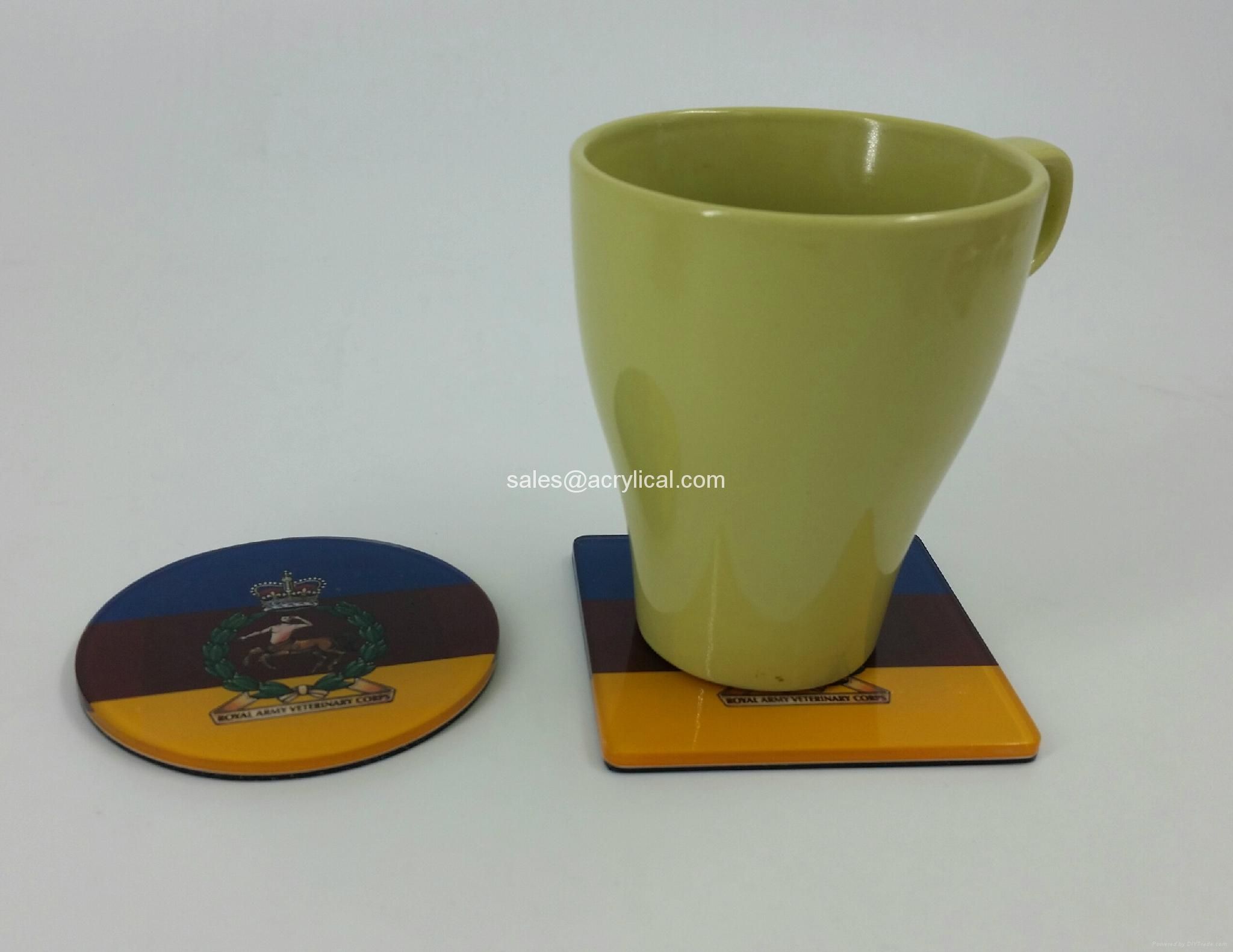 promotion giftscorporation gifts -acrylic coasters