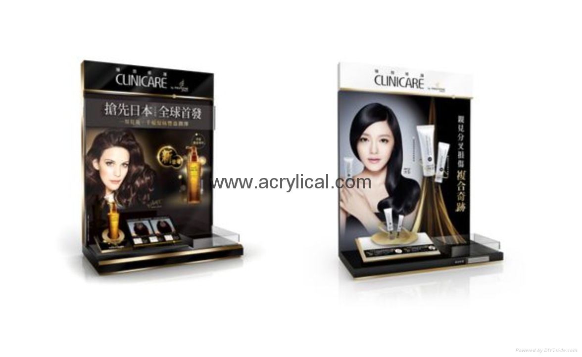 Cosmetic display stand, counter top display stand