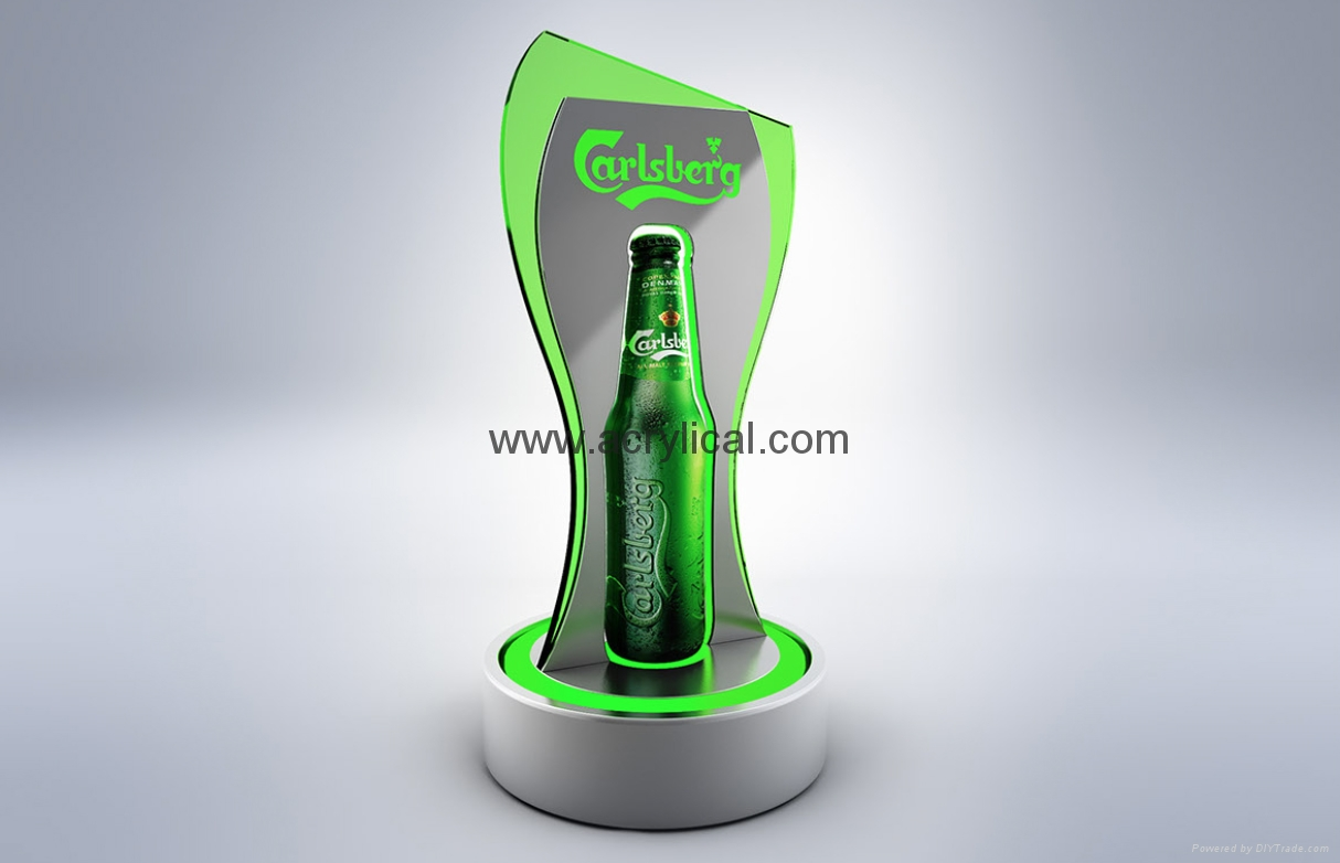 LED counter top display stand,POP display stand