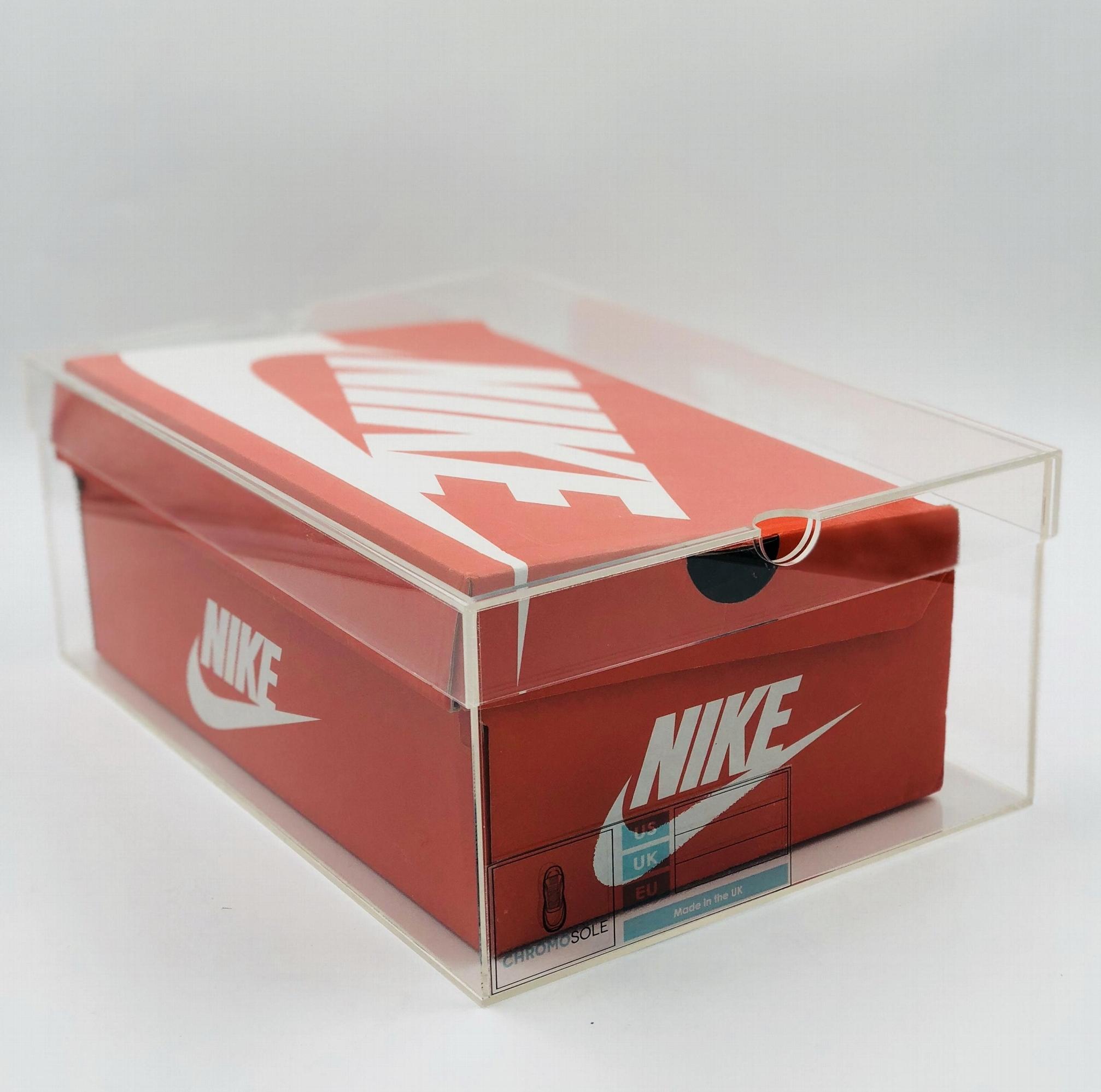 acrylic sneaker box, shose storage box, acrylic box