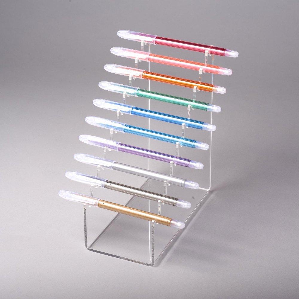 Pen Stand Designs : Pen display stand counter top ap bestop