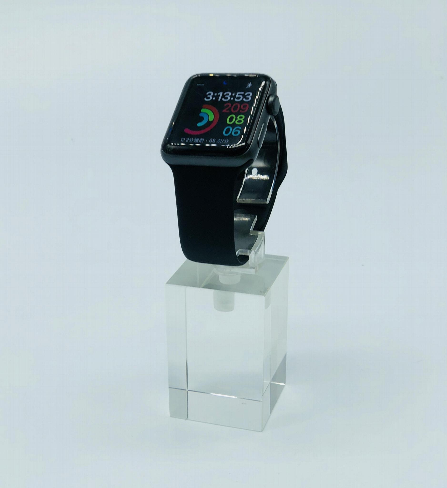 有机玻璃手表展示架/亚克力手表C圈支架 2