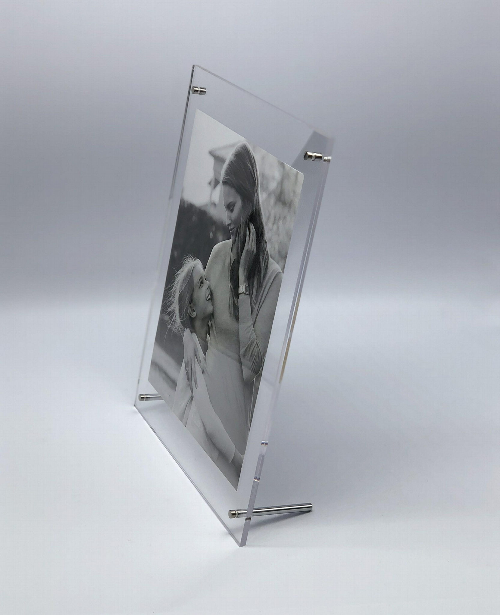 亞加力膠相架 A4,亞克力相框,壓克力相框, 透明水晶相架 ,證書框架 ,海報夾