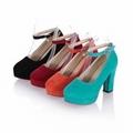亞克力透明涼鞋鞋店展示架 11