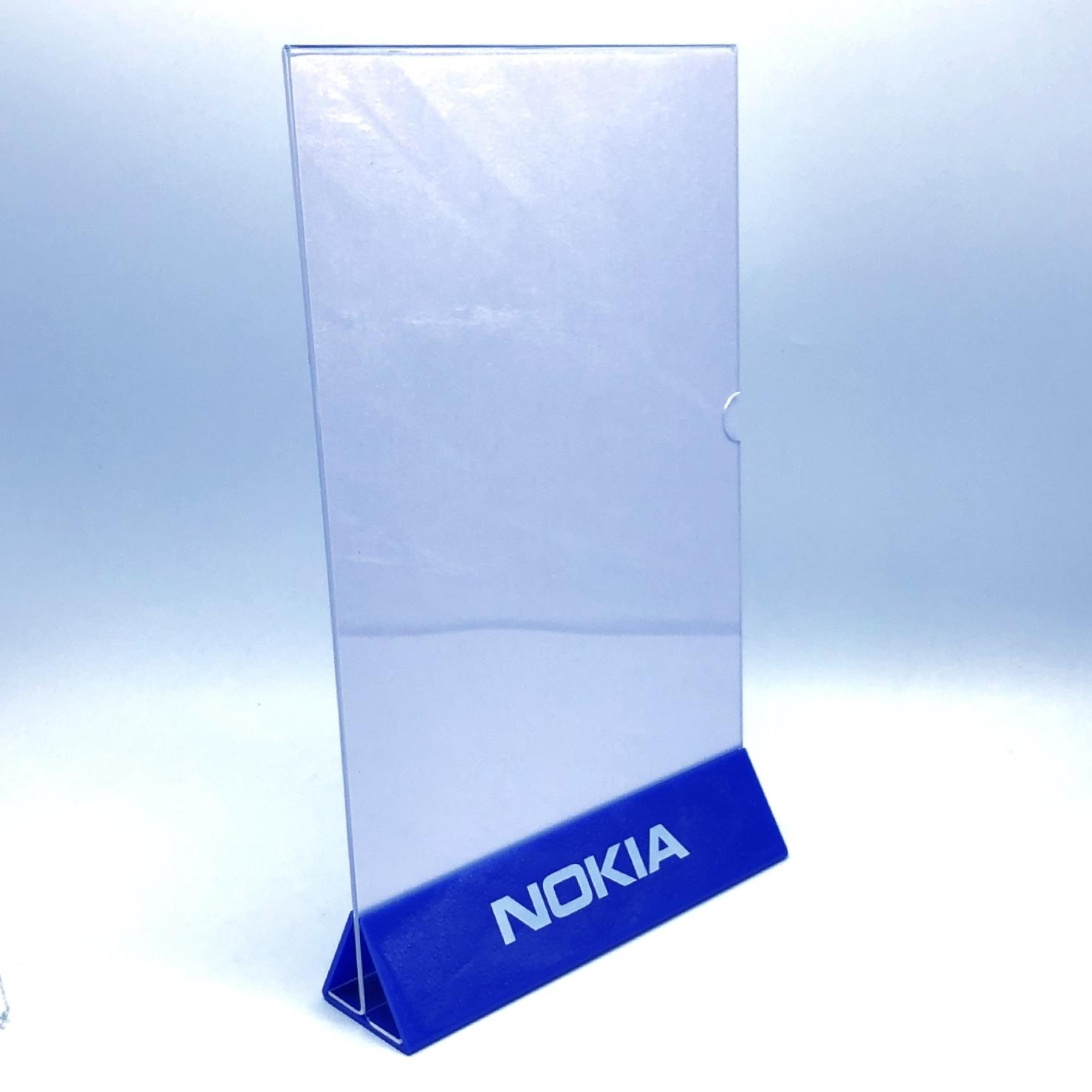 Acrylic Brochure holder,sign holder,Acrylic leaflet stand,A4 size leaflet stand,acrylic sign holder