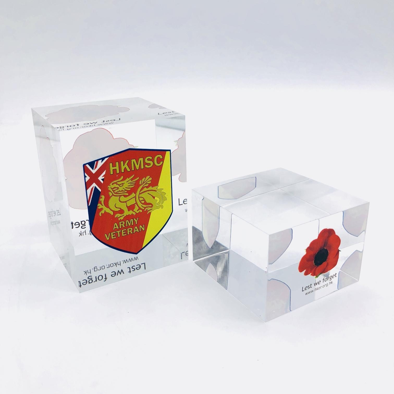 acrylic block,block with logo,laser logo with acrylic block