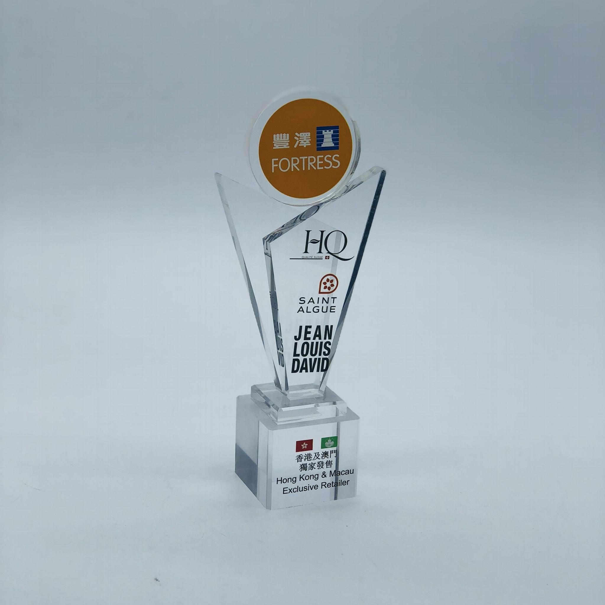 廠家直銷亞克力獎杯 獎牌  11