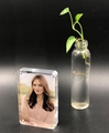 wholesales acrylic photo frame with magnet 5R( Curve corner)