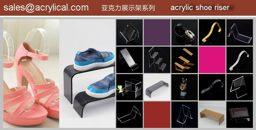 Best Sales Shoe Display Rack, Acrylic shoe stand,  Shoe Display stand Manufacturer,Wholesaler