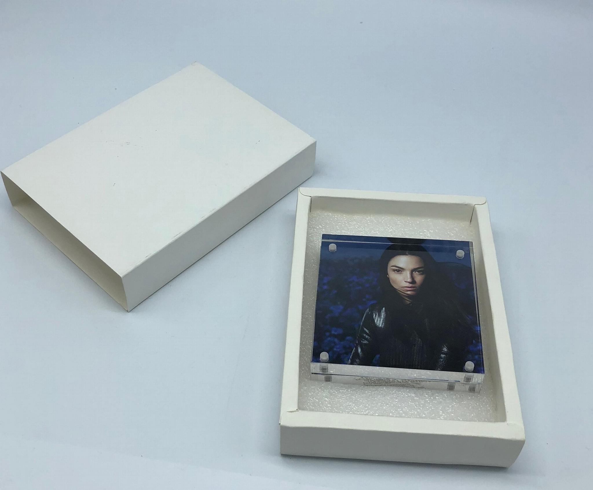 亚加力胶磁石相架10x10cm,,压克力相框,  13