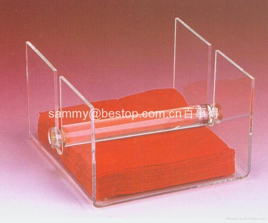 Acrylic Napkin holder, tissue box holder,acrylic tissue box,Acrylic household products,Acrylic display stands, Acrylic sign letter ,Acrylic photo Frame,Literature displays, Brochure holders, Acrylic sign holder,Menu stand,Promotion gifts,Cell phone display stands, Acrylic Easel Book Holder Rack,Acrylic display case/Box ,Diecast car display case ,Trophies, Artistic ,POP display stands,Acrylic coaster,Jewelry display stand,dome display, eyewear display stands,LED lighting  Box,Poster display,LED display stands,Watch display stand,Counter top display stand,POP stand,POP display,Floor Standing Unit ,PETG,PVC,Vacuum forming,Window display stand,Acrylic Award,Cosmetic display,metal display rack, acrylic display rack.wooden display rack,retail shop display stand