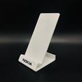 厂家定制新款透明有机玻璃手机展示架 亚克力广告展示架批发