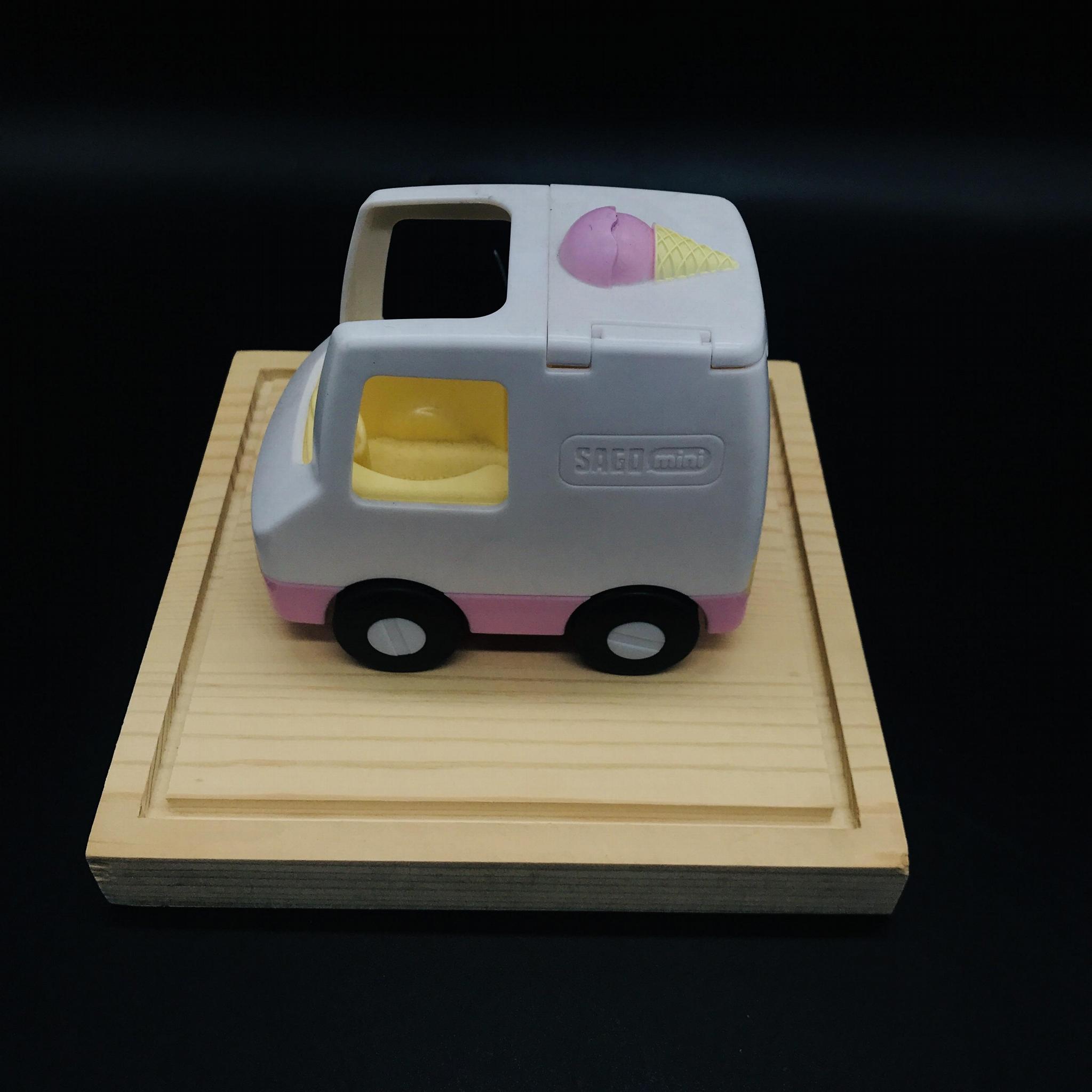 亚克力玩具展示架 定制亚克力盒子  有机玻璃公仔玩具手办展示盒 6