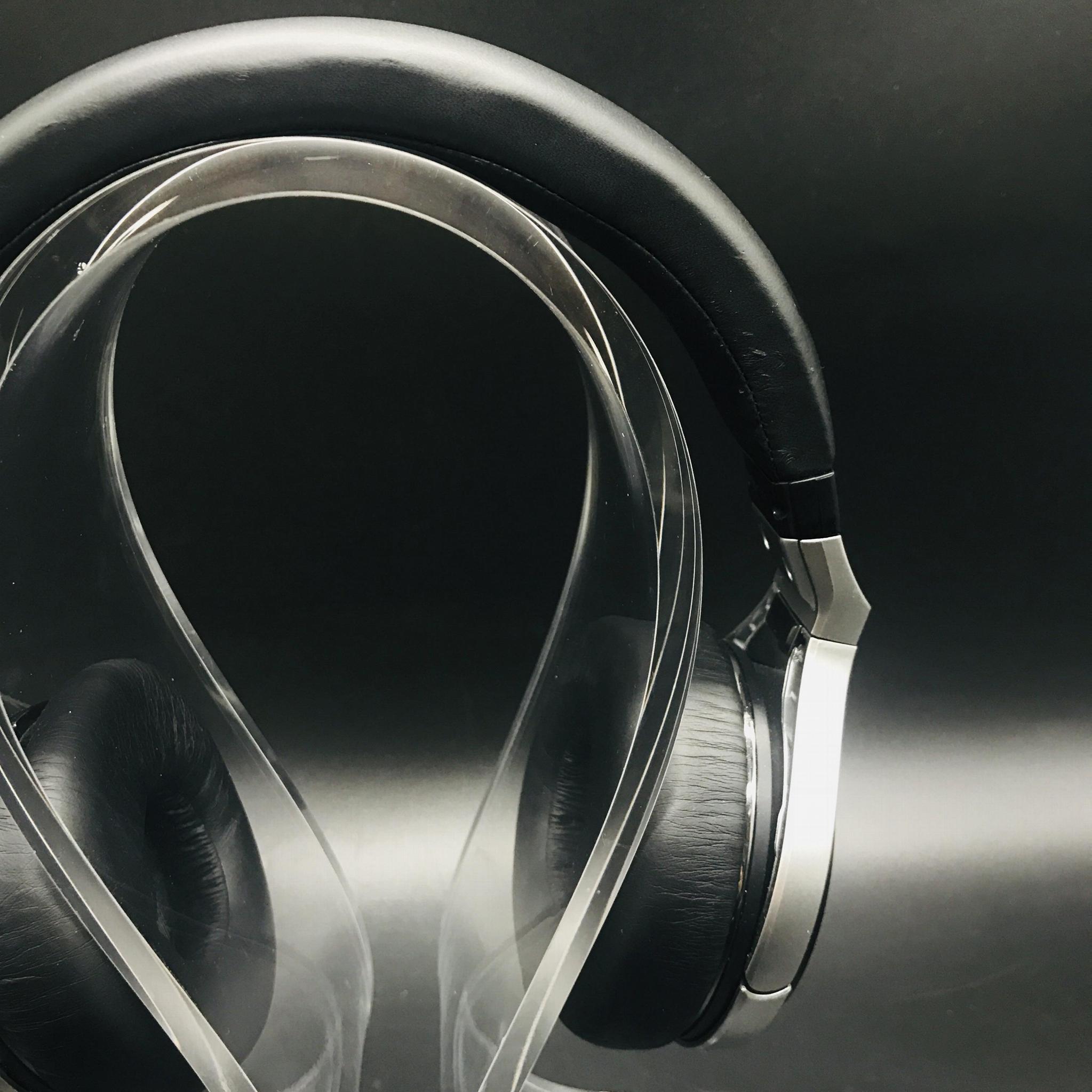 商場耳機展示架 亞克力耳機展示架 高光亮度耳機展示架 3
