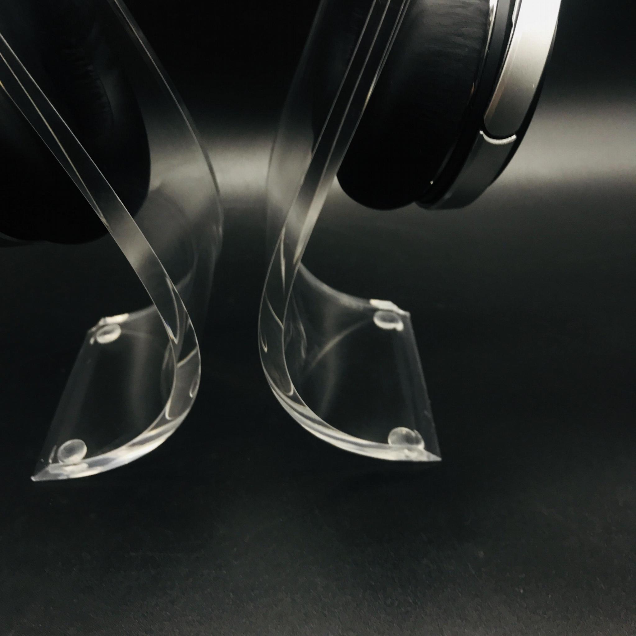 商场耳机展示架 亚克力耳机展示架 高光亮度耳机展示架 5