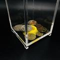 亞克力存錢罐儲錢罐 有機玻璃透明小費盒 定製創意亞克力盒 5