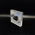 亚克力12+12mm相框 水晶可定制相框 广告相框促销 2