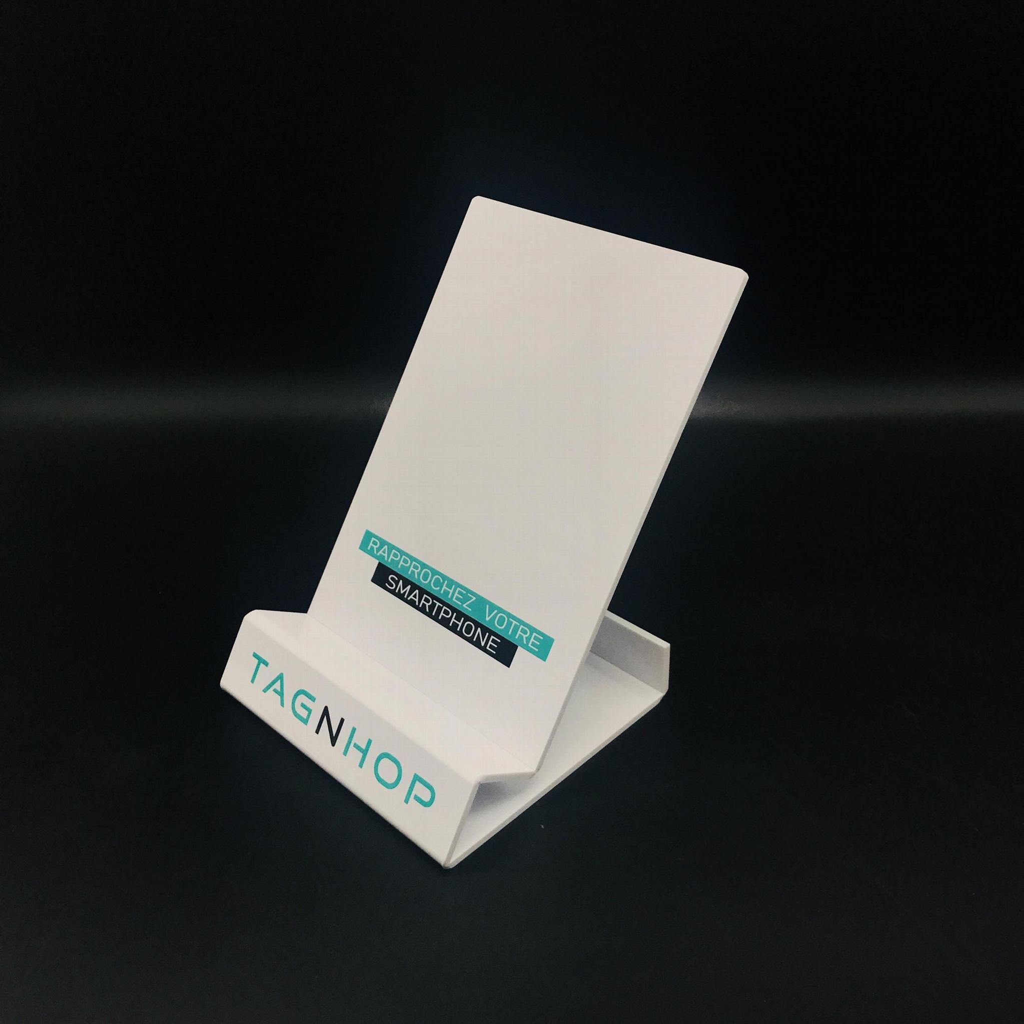 厂家定制创意亚克力书架亚克力ipad展示架 2