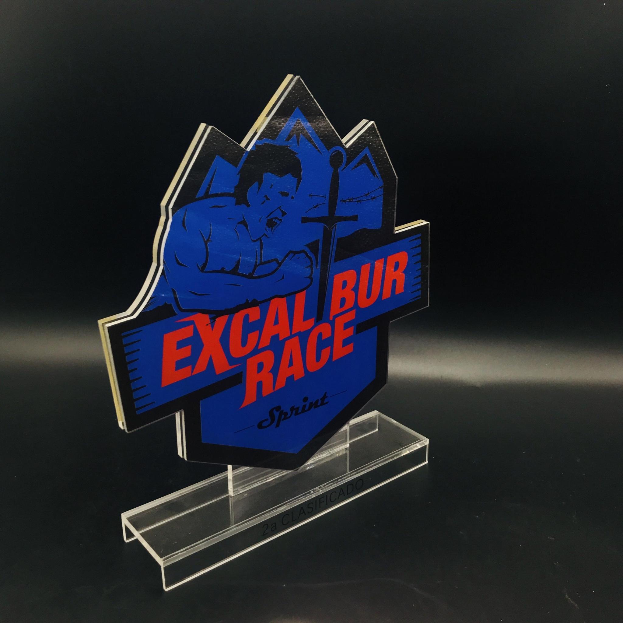 廠家定製亞克力金箔獎牌  牌 有機玻璃制品水晶凍牌獎杯 1
