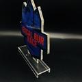 廠家定製亞克力金箔獎牌  牌 有機玻璃制品水晶凍牌獎杯 5