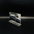 A6抽拉台牌亚克力透明底座台卡价格牌指示台签桌面展示10*15 2