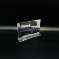 A6抽拉台牌亞克力透明底座台卡價格牌指示台簽桌面展示10*15 5