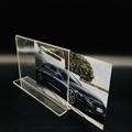 A6抽拉台牌亚克力透明底座台卡价格牌指示台签桌面展示10*15 7