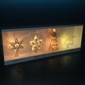 亚克力展示架 圣诞灯展示架圣诞