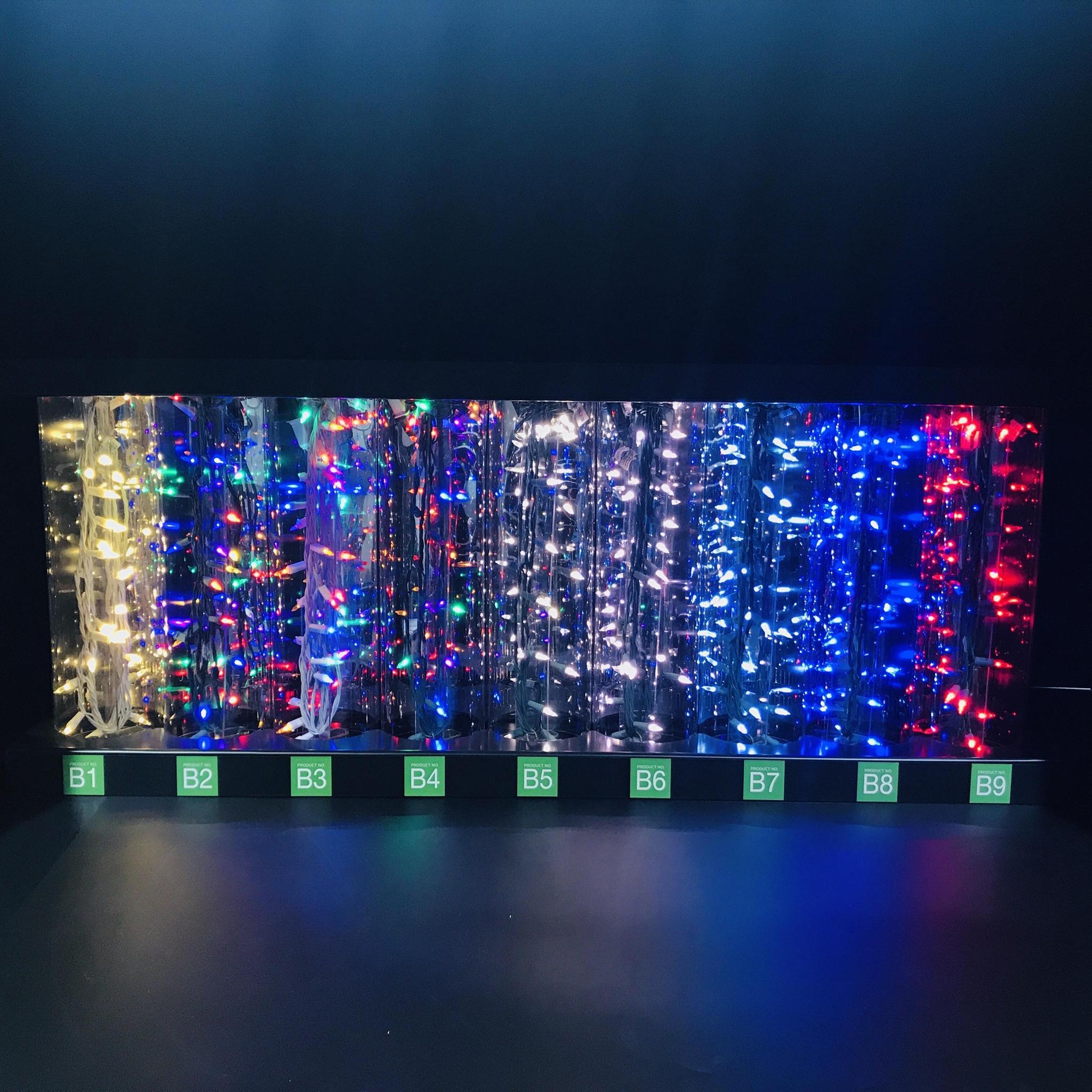 亞克力展示架 有機玻璃聖誕燈展示架 發泡板展示架 led展示架 2